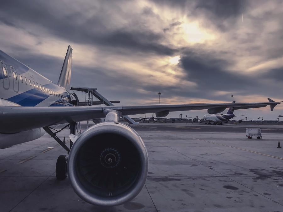 Mudanza internacional aérea