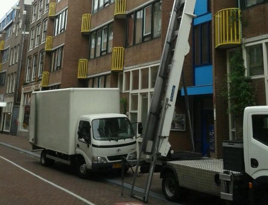 Camión para mudanza de carga ligera