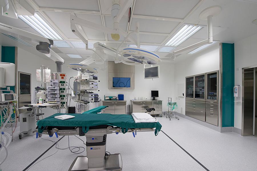Aire acondicionado hospitalar