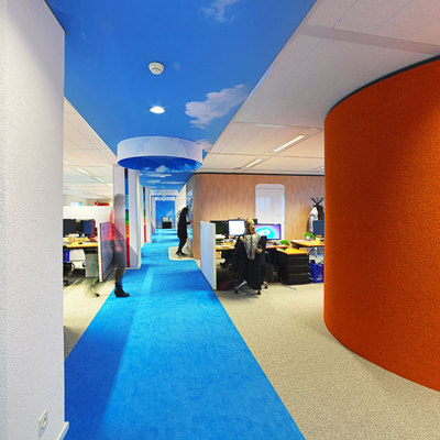 Oficinas coloridas