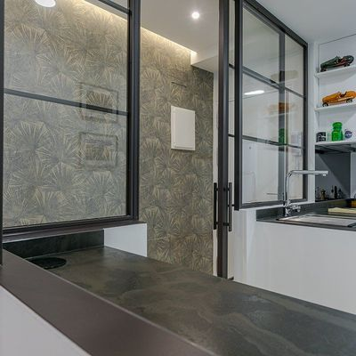 Puertas de aluminio corredizas