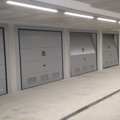 Puertas de aluminio enrollables