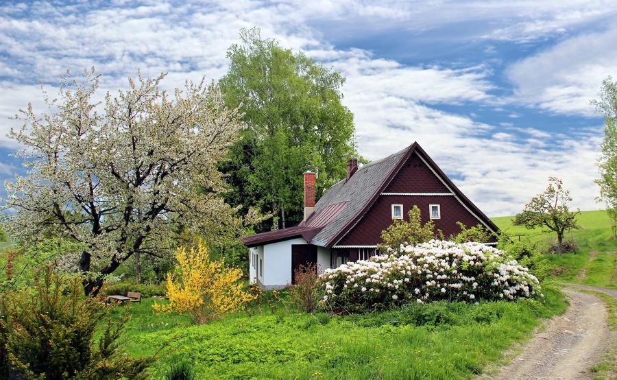 Construcción de una casa de forma tradicional
