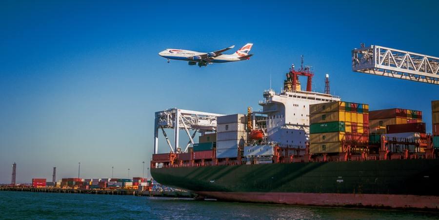 Transporte de mudanza marítimo de contenedor