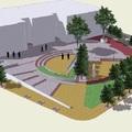3D Proyecto diseño Plaza del Registro Civil