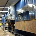 Cainsa ventilación cabina pintura con filtro