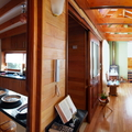 Casa Colgada. Interior