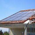 CASA playa agua caliente solarpanel integrado techo