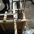 Construcción de casa de campo