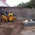 Construccion estacionamiento salcobrand de san Bernardo
