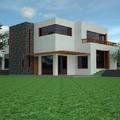 Diseño casa estilo mediterraneo