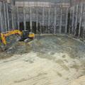 excavacion de fundacion mall