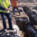 excavacion en construccion de casa y trazado