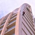 Limpieza de fachada de Casino Dreams - Valdivia