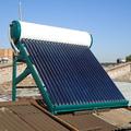 Instalación Termo Solar Presurizado en Santiago