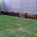 jardinera de durmientes