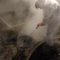 Limpiando y Sanitizando con Vapor