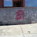 Limpieza Grafiti: Antes