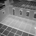 Maqueta Acrílico Facultad de Arquitectura y Urbanismo Universidad de Chile