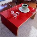 Mesa de living Roja