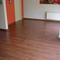 piso flotante y pintura