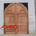 puerta para iglesia, 2 hojas medio punto