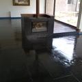 vitrificado de piso de piedra pizarra
