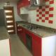 Cocina Rojo Ruby