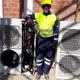 Climatización Sala Electrica Enel