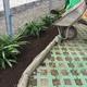 Incorporación de compost en jardineras