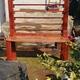 Mueble de roble reciclado