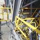 Escalera y barandas de acero