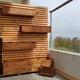 Jardinera vertical para balcones