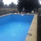piscina en etapa final