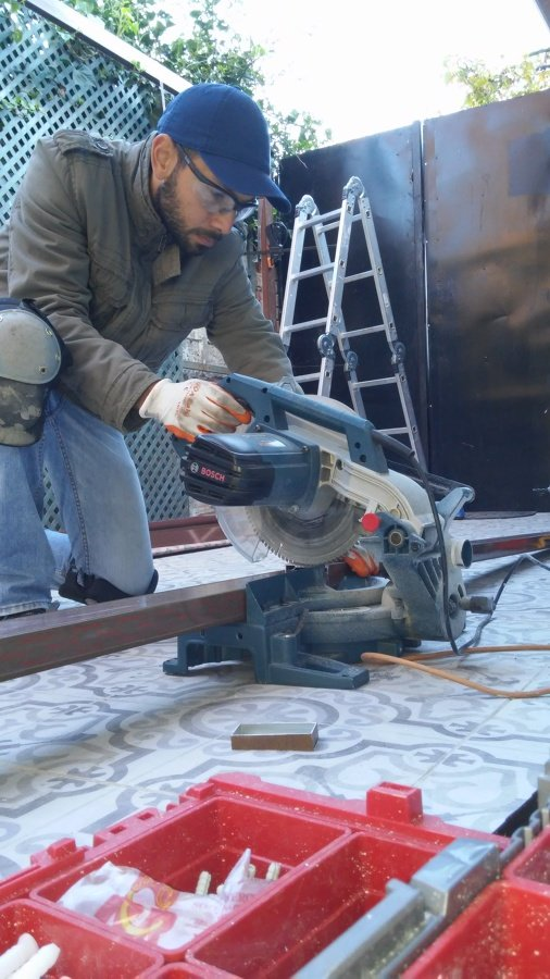 Carpintería de Aluminio Café