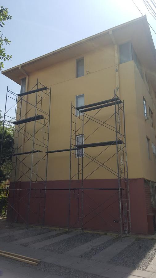 Pintura de fachada en Peñalolén