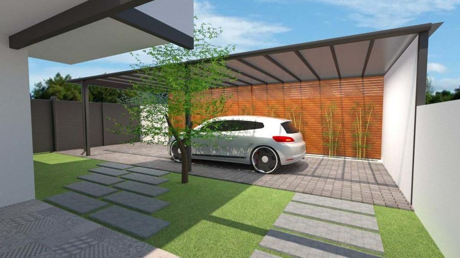 Render propuesta de estacionamiento