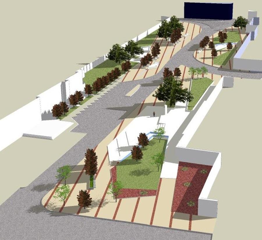 foto 3d proyecto dise o plaza la marina de arquitectura y