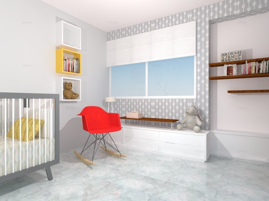 Foto: Diseño Habitación Infantil de One Arquitectura #254699 ...