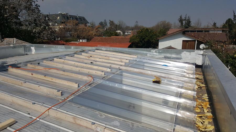 Reparación de techumbre Las Condes