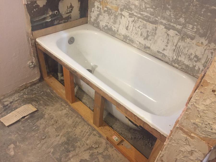 Remodelación baño (en proceso)