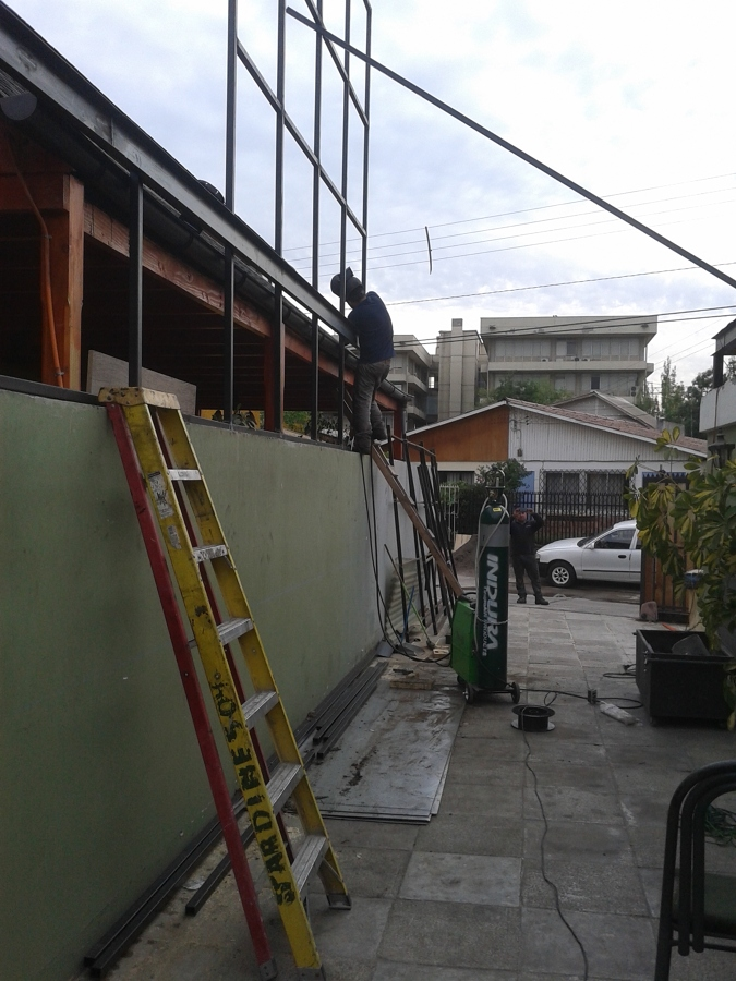 ampliacion 2º piso casa