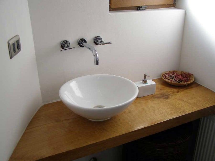 Foto ba o mueble en obra de arquitectonica visual 4391 - Muebles de obra para banos ...