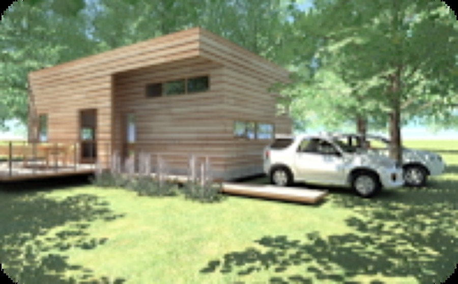 Foto: Cabaña en Villarrica de Pmayd Arquitectura Y Diseño #5747 ...
