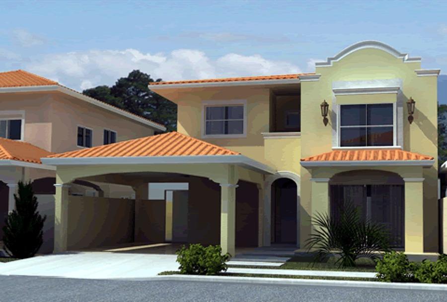 Foto casa estilo moderno de constructora taurus 5 for Colores de techos de casas
