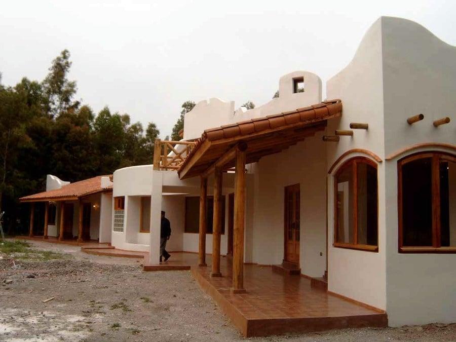 Foto casa estilo patronal mexicano de arquitectonica for Imagenes de fachadas de casas rusticas mexicanas