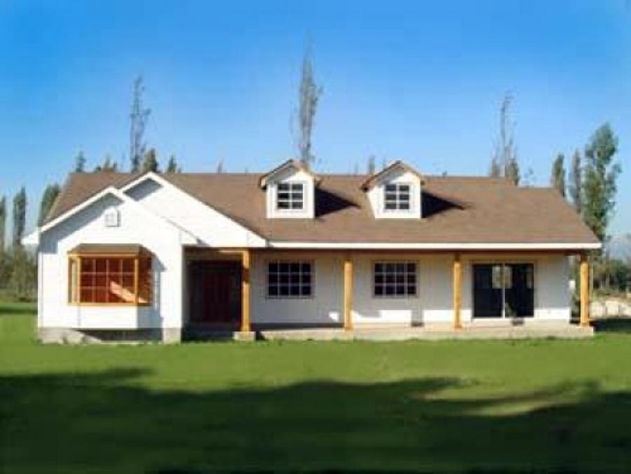 Foto casa habitacio parcela rural o urbana de ingensider - Casas para belenes hechas a mano ...