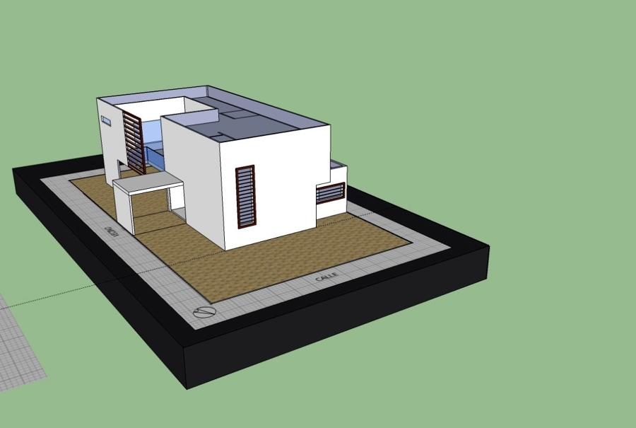 Casa las Condes 2_ estudio de cabida