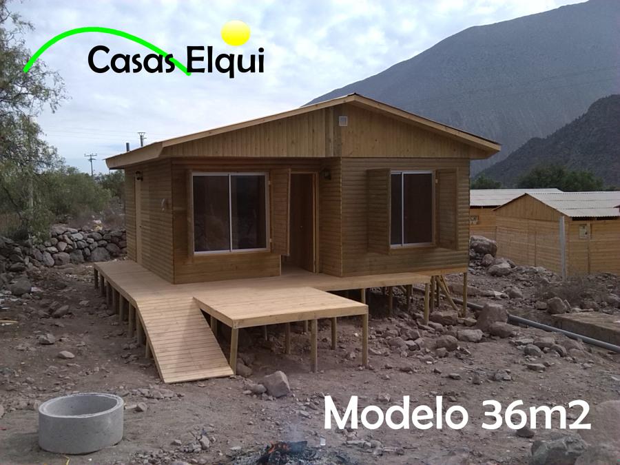 Foto casa prefabricada 36m2 de casas elqui 41913 for Costo casa prefabricada