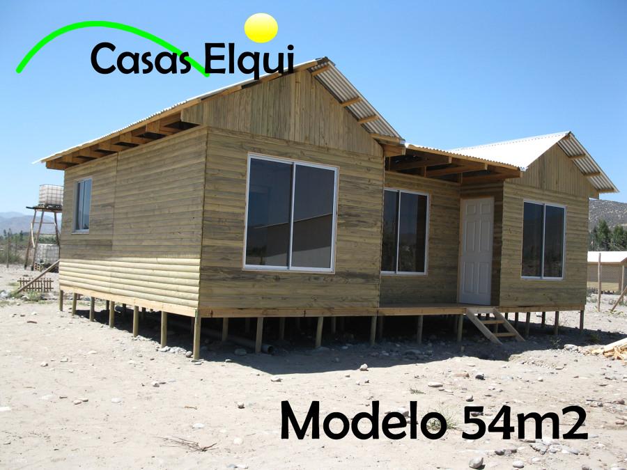 Foto casa prefabricada 54m2 de casas elqui 41914 - La casa prefabricada ...